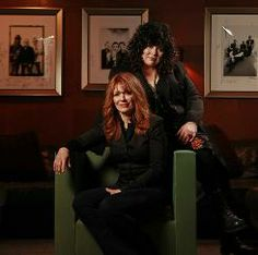Straight on  in a new direction: Heart's Nancy Wilson, front, and Ann Wilson, the original women in hard rock, return with a new album, Red ...