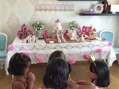 A festa da minha princesa | Shopping for my babies; princess party; 4 years; party decor