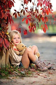 58 Ideas for photography poses for kids toddlers little girls cute ideas Autumn Photography, Children Photography, Family Photography, Photography Poses, Little Girl Photos, Little Girls, Kind Photo, Photo Images, Foto Baby