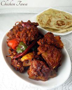 Chicken Diet Recipe, Diet Soup Recipes, Tofu Recipes, Chicken Recipes, Curry Recipes, Side Dishes For Chicken, Vegetarian Side Dishes, Easy Indian Recipes, Ethnic Recipes