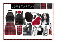 """Love Tartan"" by melaccamarina on Polyvore featuring moda, Elizabeth and James, Filles à papa, Boohoo, Givenchy, Chanel, Panache, NARS Cosmetics, Sephora Collection e Olivia Burton"