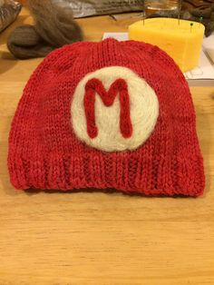 Ravelry: Kellydoolan's Knitwit Knits Super Mario Hat
