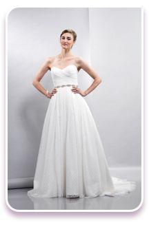 Robes de Mariée Lis Simon chez Christianne Brunelle Couture