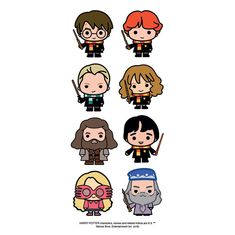 Paper House Productions Harry Potter Chibi Stickers