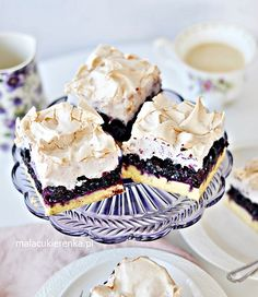Kruche Ciasto z Jagodami i Bezą Instant Pot Dinner Recipes, I Foods, Breakfast Recipes, Sweet Tooth, Cheesecake, Good Food, Food And Drink, Cooking Recipes, Sweets