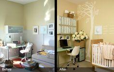 nursery and office | West 20th Nursery-Office | RoomRecipes