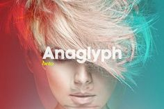 Anaglyph 3D Action — The Original by beto on @creativemarket
