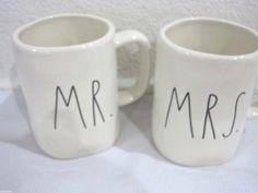 Magenta By Rae Dunn MR MRS Coffee Tea Cup Mug LAST ONE!! #Magenta