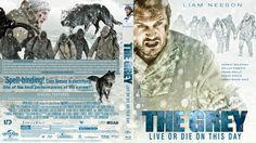 The Grey Blu-ray Custom Cover Dermot Mulroney, Live Or Die, Robert Frank, Blu Ray Movies, Liam Neeson, Cover Design, Gallery, Grey, Artwork