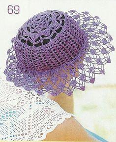 Purple pamela with diagram