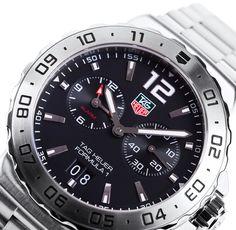 Tag Heuer WAU111A Formula 1 Black Dial Alarm Watch