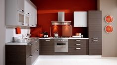 Thermofoil cabinets are the most commonly used option for kitchen cabinets. Types Of Kitchen Cabinets, Kitchen Cabinet Doors, Kitchen Cabinet Design, Modern Kitchen Design, White Cabinets, Moduler Kitchen, Kitchen Flooring, Kitchen Decor, Gloss Kitchen
