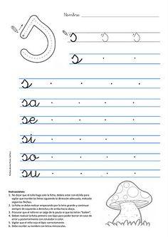 Ficha de Caligrafa para imprimir gratis Caligrafia letra l luna