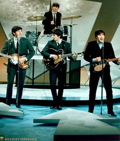 The Beatles - Ed Sullivan Rehearsel