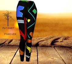 Putzart Forever Custom designed Leggings