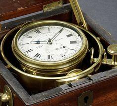 Historically-significant marine chronometer accompanied Darwin