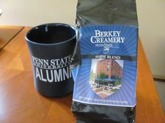 Penn State Alumni Mug and Creamery Coffee- Come to our Toys for Tots Happy Hour and Silent Auction for your chance to win this! All proceeds benefit the #PSU Chapter Scholarship Fund. Event details at http://pennstatecnj.com