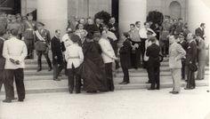 Inauguración del curso 1947 - 1948. Instituto Ximénez de Rada, Pamplona