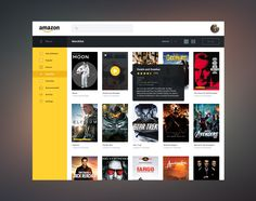 Amazon Streaming Redesign / James Cipriano