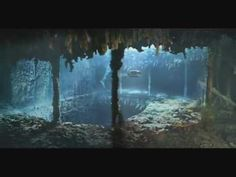 Footage of the RMS Titanic wreck