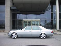 W140 600SEL With R20 Wheels. Check out for more on: http://dailybulletsblog.com/mercedes-benz-w140-compilation-part-i/ #MercedesBenz #W140 #Cars