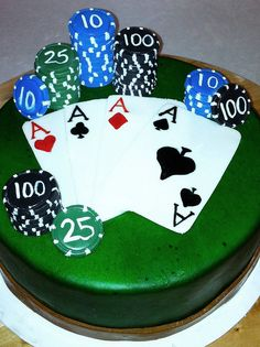 poker cake by rubberpoultry, via Flickr