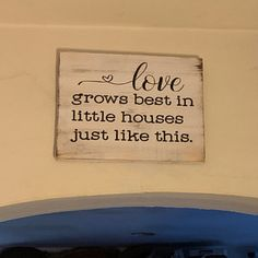 Wood Kitchen Sign The Secret Ingredient Is Always Love Sign Wood Kitchen Signs, Kitchen Decor, Great Housewarming Gifts, Heart Decorations, Love Signs, Tray Decor, Little Houses, Scented Candles, Tea Lights