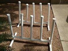Pool Float Storage Ideas how to build a pvc pool towel rack Swimming Pool Towel Rack Bar Tree Float Caddy