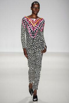 Mara Hoffman FW14, fashion, style, runway, model, fall 2014