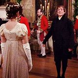 Pride and Prejudice. Oh Mr. Collins. But he is really good at dancing! :)