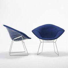 Cadeiras Diamond - Harry Bertoia (1952) Diamond chairs - Harry Bertoia (1952)