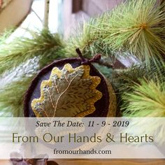 Have you saved the date for this years show? November 2019 ~ Peninsula, Ohio Check out our website for all the pertinent info and to see our exhibitor list! Heart Hands, Antique Show, Wool Applique, Save The Date, Folk Art, Ohio, November, Hearts, Christmas Ornaments