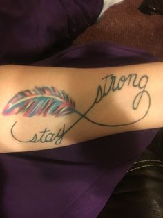 Miscarriage tattoo  #staystrong #pinkorblue #doesntmatterijustmissyou…