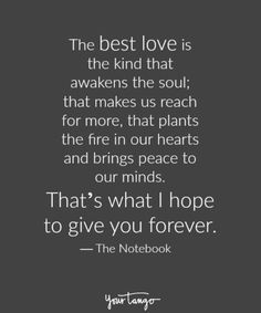 """Love Quotes Ideas : Love quote idea - love quotes from The Notebook - """"The best love is the kind tha...  #Love https://quotesayings.net/love/love-quotes-ideas-love-quote-idea-love-quotes-from-the-notebook-the-best-love-is-the-kind-tha/"""