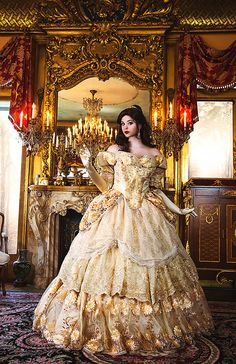 Personalizzato Belle Upscale Adult Fantasy Sparkle Deluxe