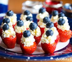 17.mai! Sons Of Norway, Norwegian Food, Creative Food, Fruit Salad, 4th Of July, Smoothie, Red And White, Raspberry, Sweet