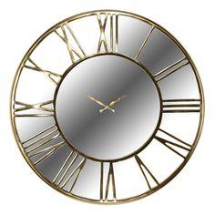 Ceas de perete cu oglinda Richmond Greyson D 76cm Richmond Interiors, Retro, Home Decor, Vintage, Products, Mirrors, Clock, Decoration Home, Room Decor