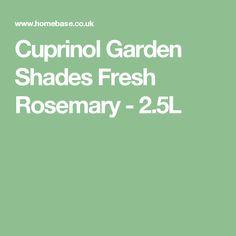 Find Cuprinol Garden Shades - Forget Me Not - at Homebase. Cuprinol Garden Shades, Forget Me Not, Shade Garden, Colour Schemes, Garden Furniture, Fresh, Gem, Garden Ideas, Creativity