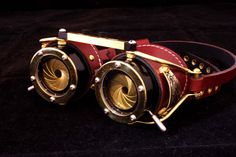 Steampunk Goggles Dual Iris aperture by AccuviewPrecision on Etsy, $250.00