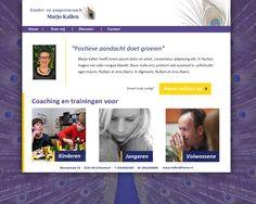 Websiteschets Marjo Kallen
