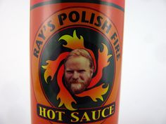 Ray's Polish Fire Hot Sauce is made in Hancock, Michigan