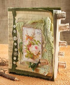This project, courtesy of Ruth Rae, author of Layered, Tattered & Stitched, uses multiple techniques (all laid out for you step by step) and materials. You'll sew, strip, dye and bind. And when you're all done, you'll be amazed at the work of art you've created!