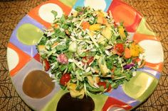 Apple and Sunflower Seed Chopped Salad