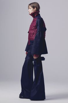 Sacai Pre-Fall 2016 Fashion Show