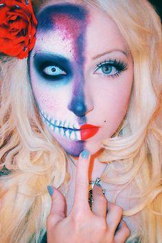 Haloween Make-up.