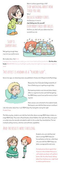 placebo sleep, motivation, personal development