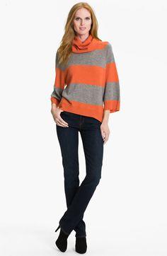 Pure Amici Stripe Cashmere Tunic | Nordstrom