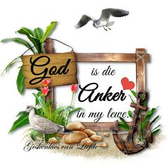 Afrikaanse Quotes, Wees, God, Blessed, Lisa, Inspiration, Sayings, Birthday, Anchor