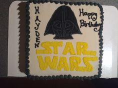 Simple Star Wars cake