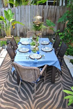 Prepare your outside space for a summer of evening parties with these 5 tips.